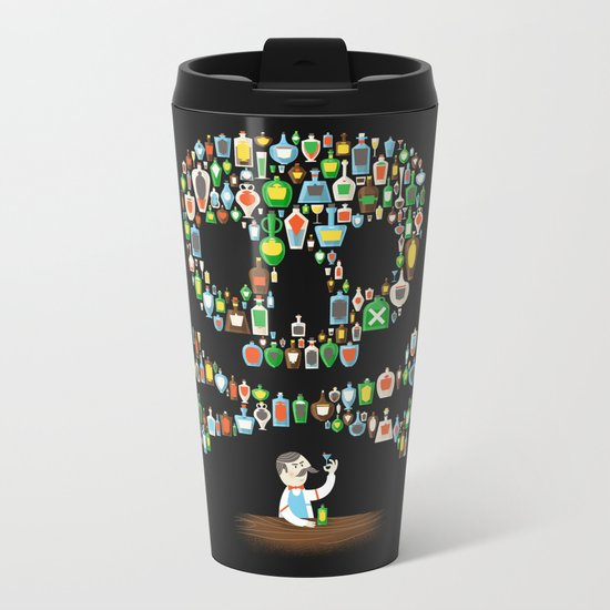 What's your poison? Metal Travel Mug