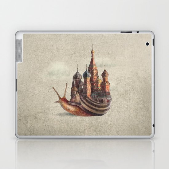 The Snail's Daydream Laptop & iPad Skin