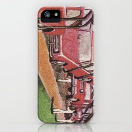 Conveying Cars iPhone Case