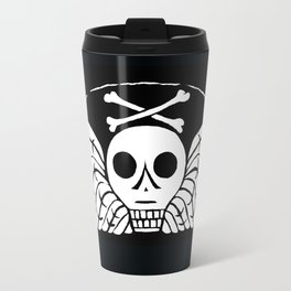 Death's Head Travel Mug