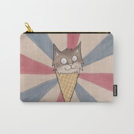 Ice Cream Cat Carry-All Pouch