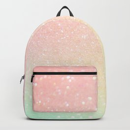 Glitter Pink Sparkle Ombre Backpack