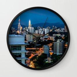 KL City Wall Clock
