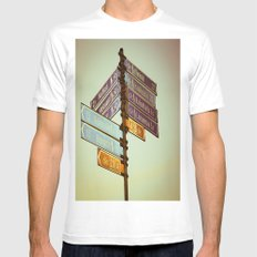 Oh, Suomi (Finland) MEDIUM Mens Fitted Tee White