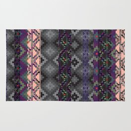 Russian style inspired Aztec Rug