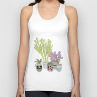 cactus Tank Tops featuring Cactus by Olivia James