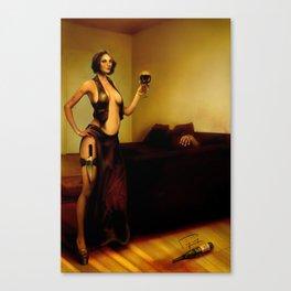 """The bad customer"" Canvas Print"