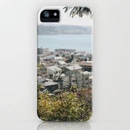 Japan's Coast iPhone Case
