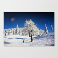 New Winter Day  Canvas Print