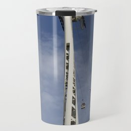 Emirates Cable Car And Flybe Aircraft Travel Mug