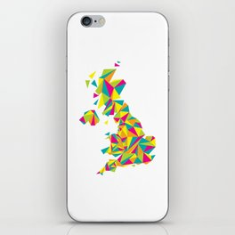 Abstract United Kingdom Bright Earth iPhone Skin