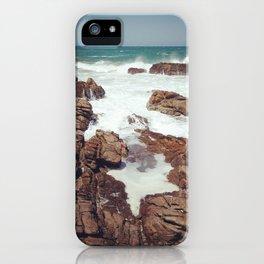 West Coast rocks iPhone Case