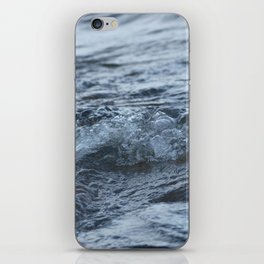 Stormy shore iPhone Skin