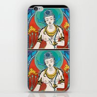 buddhism iPhone & iPod Skins featuring Buddhism by Panda Cool