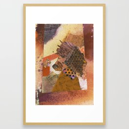 Well Who are You? Framed Art Print