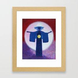 Light Goddess Framed Art Print
