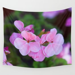 Bloom Through Change Wall Tapestry