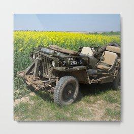 Willys MB Jeep Metal Print