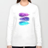 island Long Sleeve T-shirts featuring The Sound by Jacqueline Maldonado