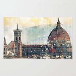 Florence - Cattedrale di Santa Maria del Fiore Rug