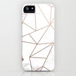 Abelie (Marble) iPhone Case