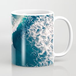 Surf from above Coffee Mug