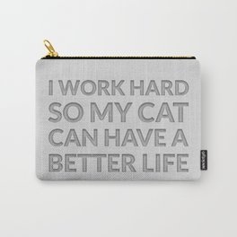 The Cat Lover I Carry-All Pouch