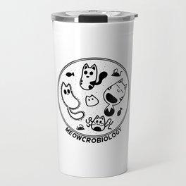 Meowcrobiology Travel Mug
