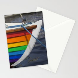 RAINBOW SAILBOAT Stationery Cards