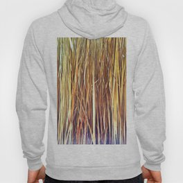 434 - Abstract grass design Hoody