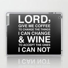 Lord give me wine Laptop & iPad Skin