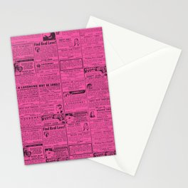 OWNERS OF A LONELY HEART (MUCH BETTER...) Stationery Cards
