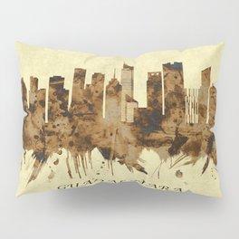 Guadalajara Mexico Cityscape Pillow Sham