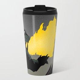 Gamera vs. Gyaos Travel Mug