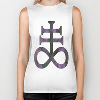 alchemy Biker Tanks featuring Alchemy by Lucid Daydreamers