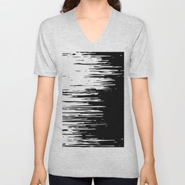 Distortion Unisex V-Neck