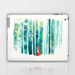 Fox in quiet forest Laptop & iPad Skin