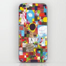 Microcosm Collage iPhone Skin