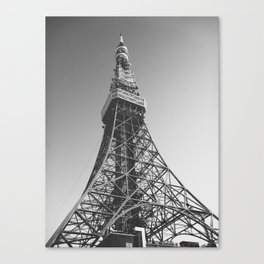 Tokyo Tower, Tokyo Canvas Print