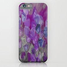Violet Flower Garden Abstract Slim Case iPhone 6s