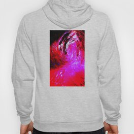 Abstract Red Storm by Robert S. Lee Hoody