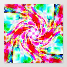 Abstract Volleyball Canvas Print