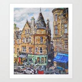 Cockburn Street, Edinburgh Kunstdrucke