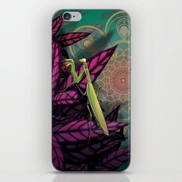 Praying Mantis iPhone Skin