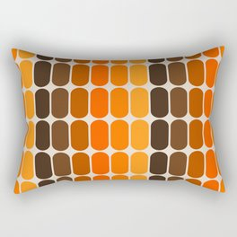 Golden Capsule Rectangular Pillow