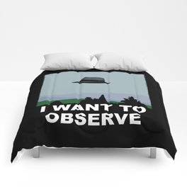 I Want to Observe Comforters