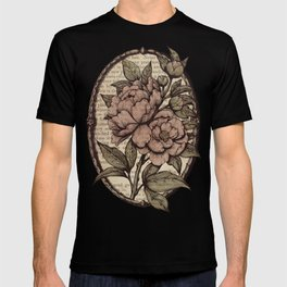 Peonies  - Color T-shirt