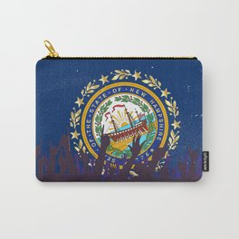 New Hampshire State Flag with Audience Carry-All Pouch