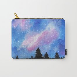 Night Sky, Acrylic Galaxy Art Carry-All Pouch