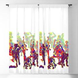 Bodies 3 Blackout Curtain